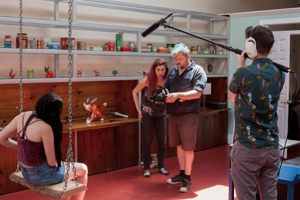 Behind the Scenes Award-Winning She Once Was Distant